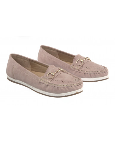 5292 : Balujas Peach Ladies Loafers