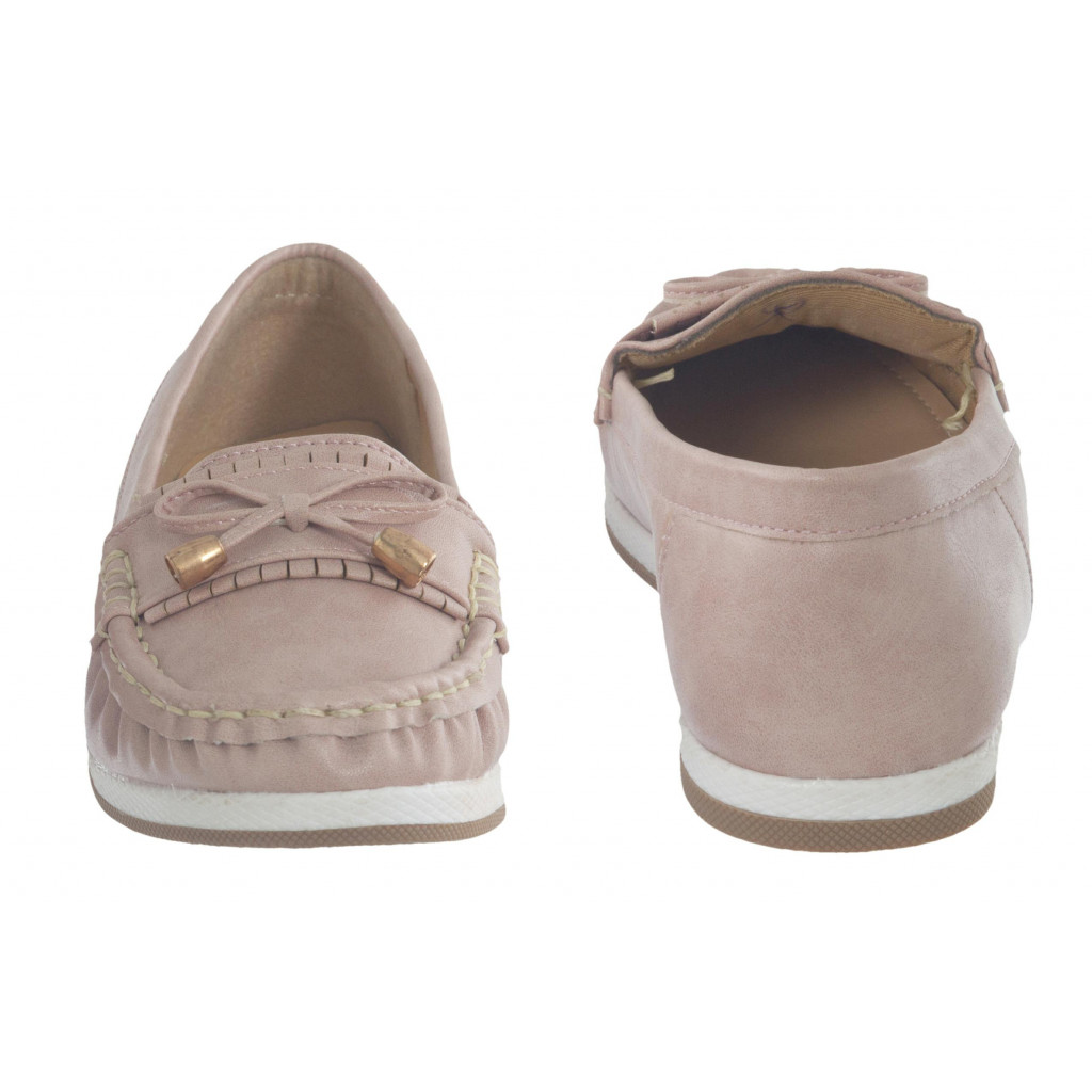 5298 : Balujas Peach Ladies Loafers
