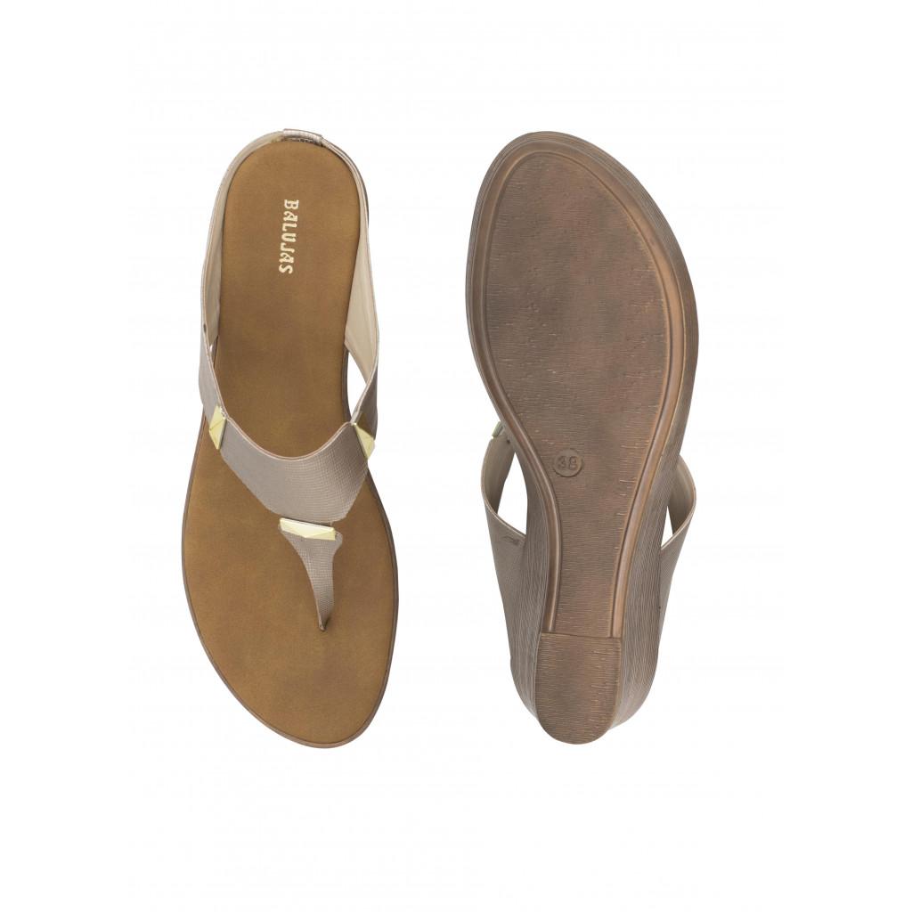 135 : Balujas Sultan Wedge Heel Ladies Slippers