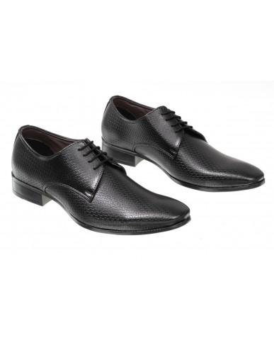 3001 : Balujas Black Men Formal Shoes