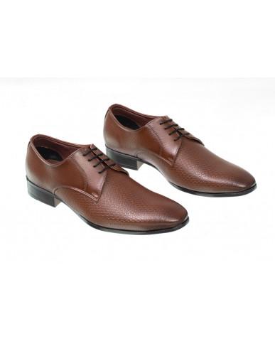 3001 : Balujas Brown Men Formal Shoes