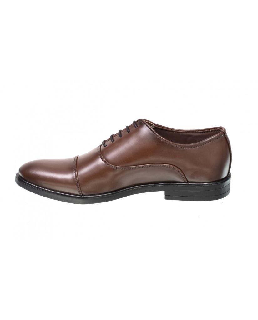 3324 : Balujas Brown Men Formal Shoes