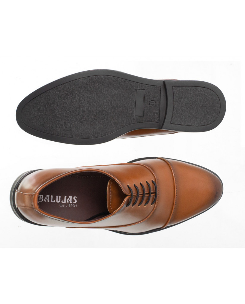 3324 : Balujas Tan Men Formal Shoes