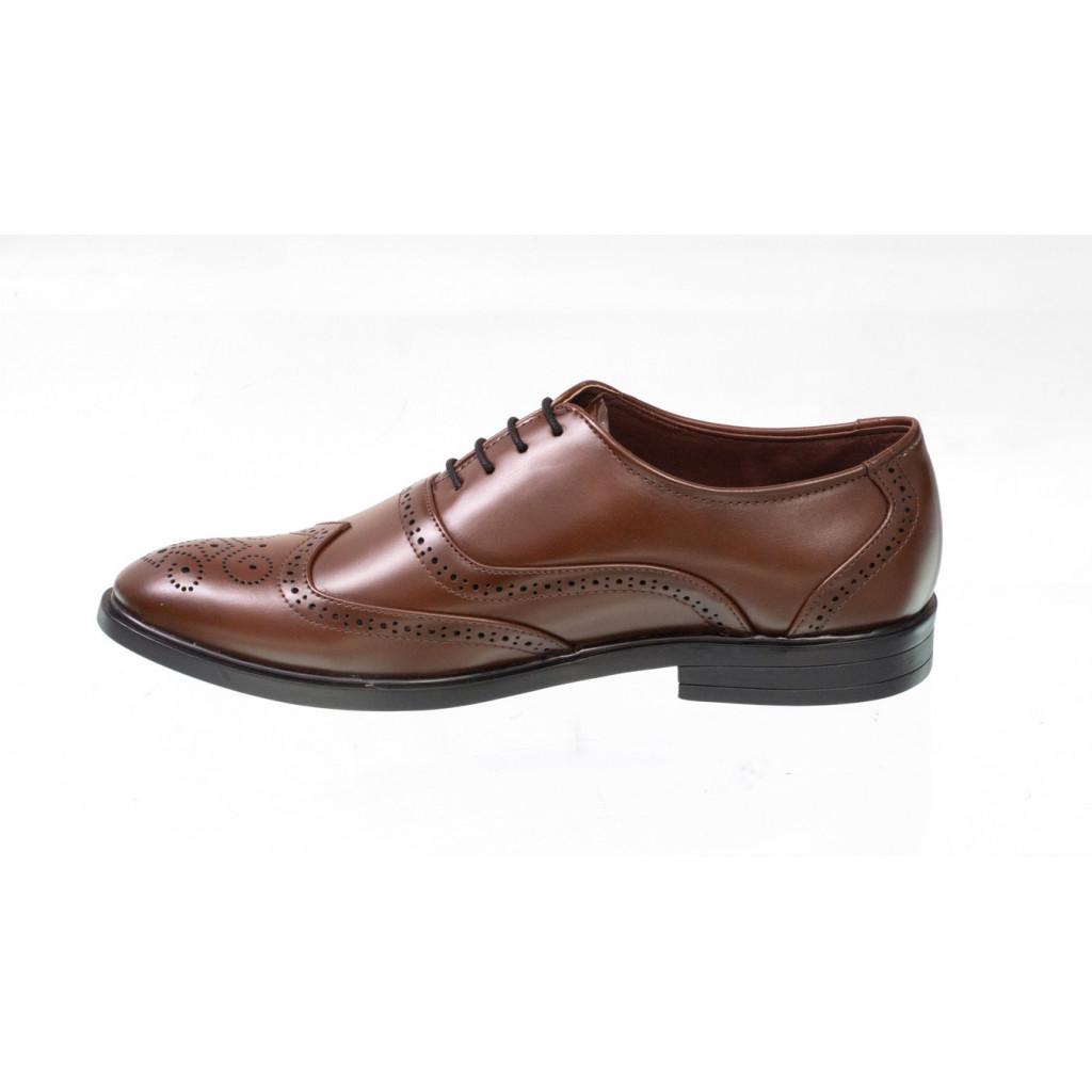 3375 : Balujas Brown Men Formal Shoes