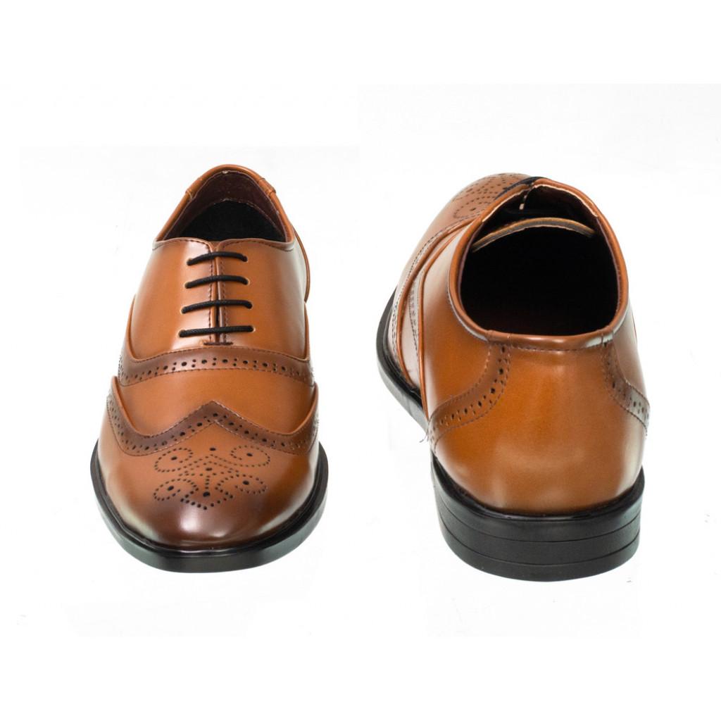 3375 : Balujas Tan Men Formal Shoes