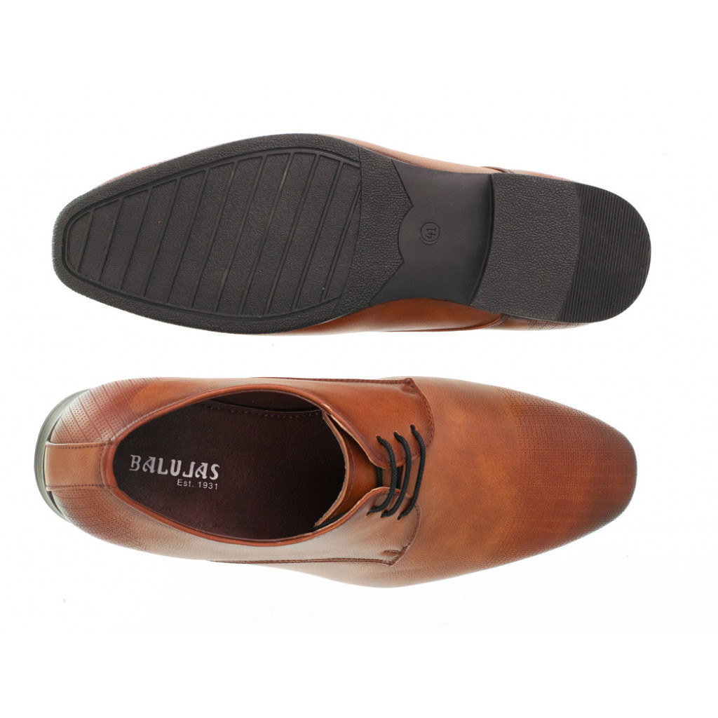 3901 : Balujas Tan Men Formal Shoes