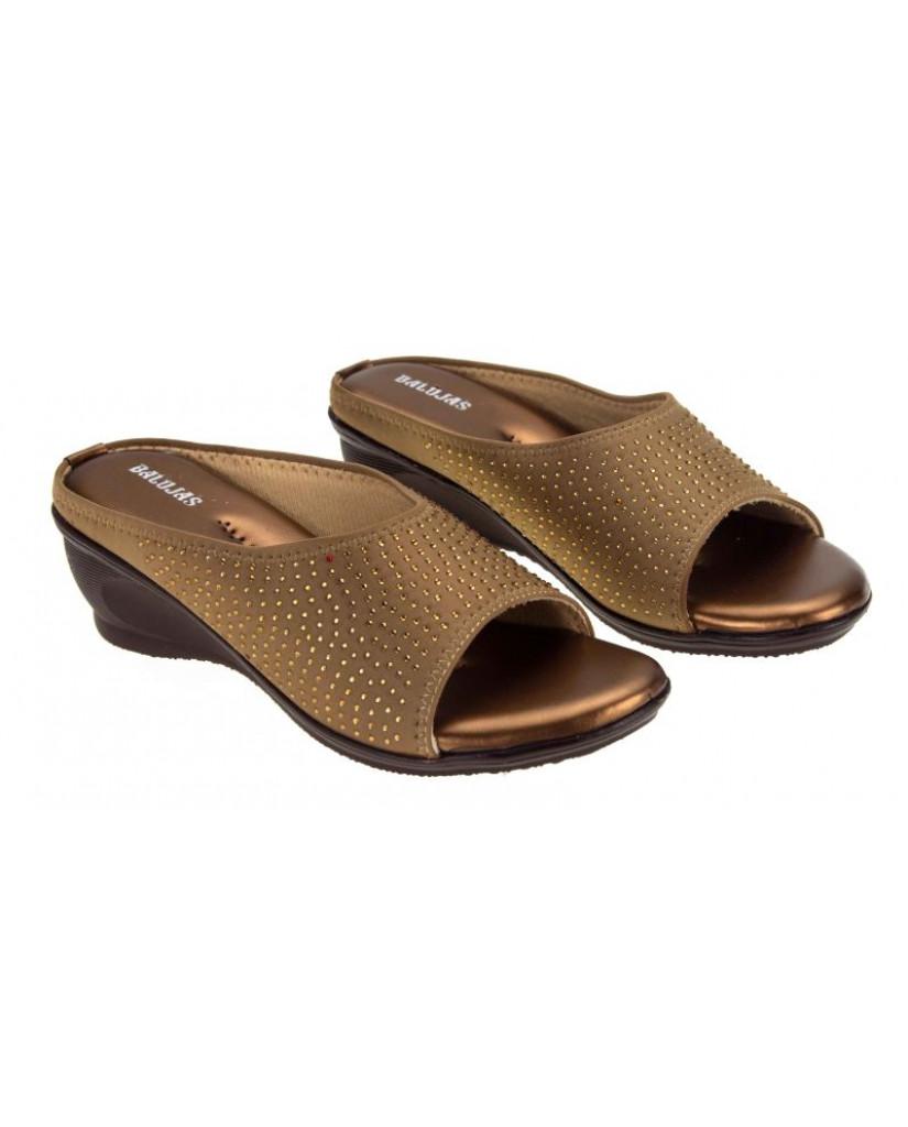 AB-715 : Balujas' Copper Wedge Heel Bellies