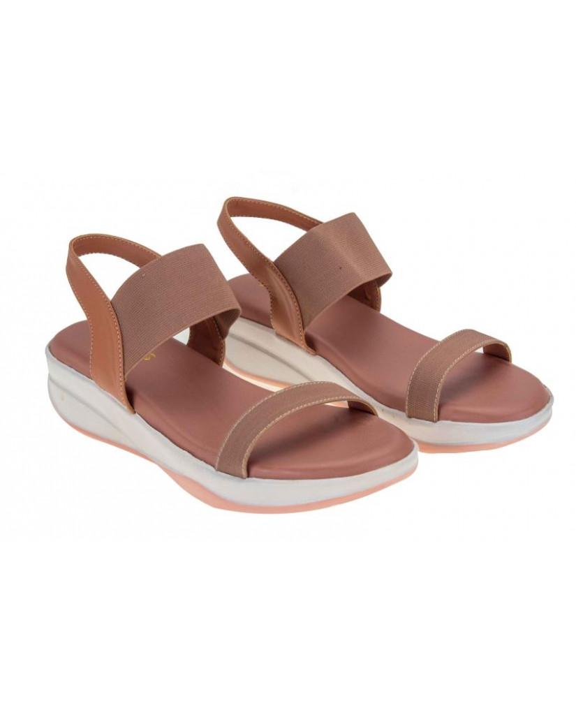 MH-723 : Balujas Peach Ladies Sandals