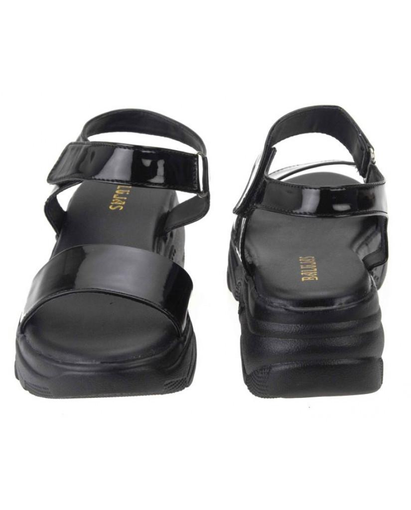 MH-744 : Balujas Black Ladies Sandals