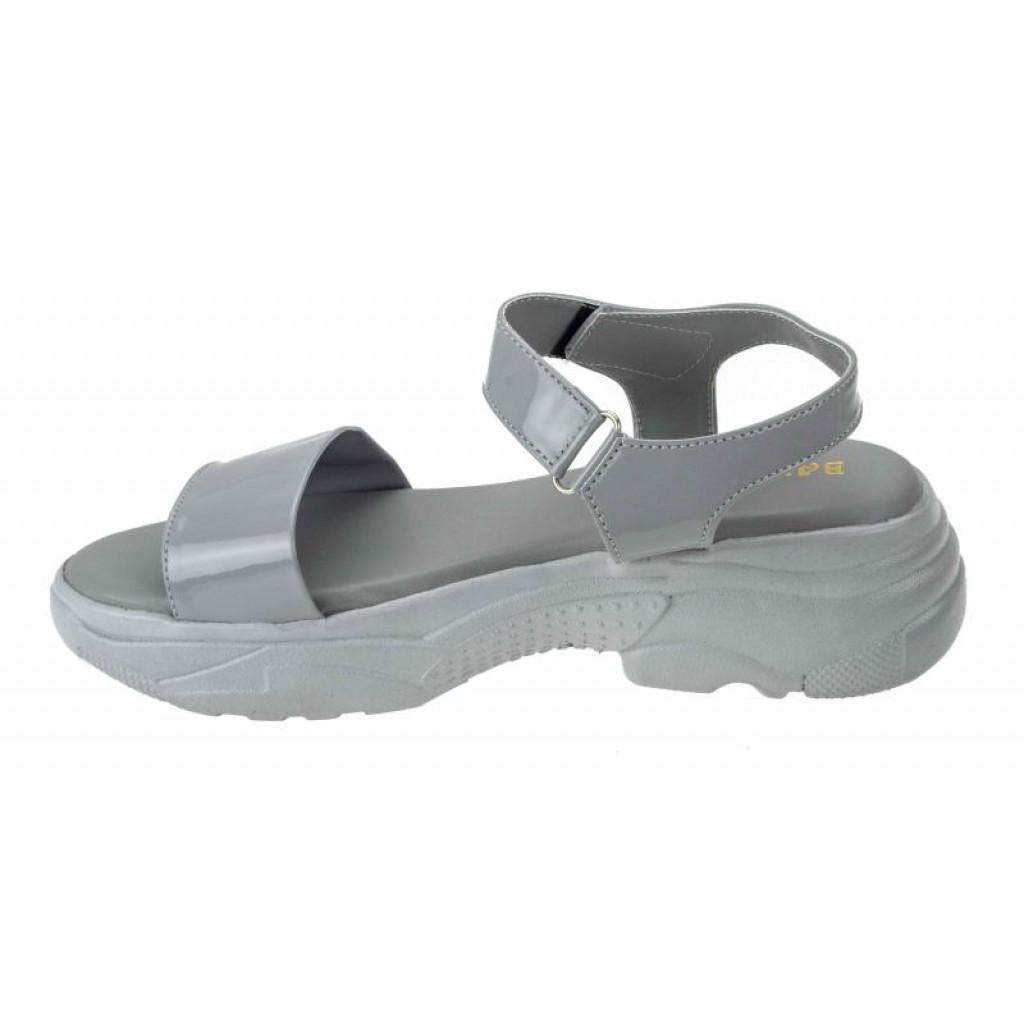 MH-744 : Balujas Grey Ladies Sandals