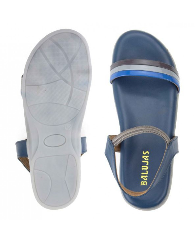 SM-2869: Balujas Grey Ladies Sandals