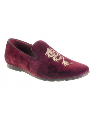 9900 : Balujas' Arya Mahroon Men Shoes