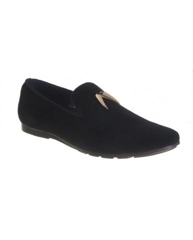 9907 : Balujas' Arya Black Men Shoes