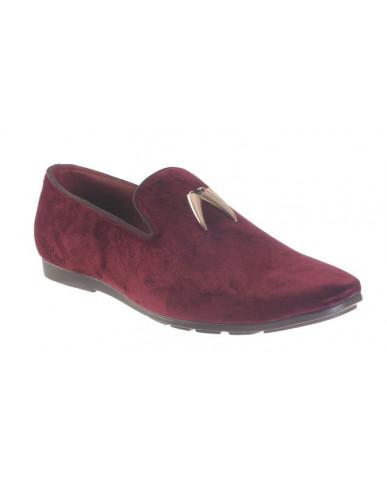 9907 : Balujas' Arya Mahroon Men Shoes