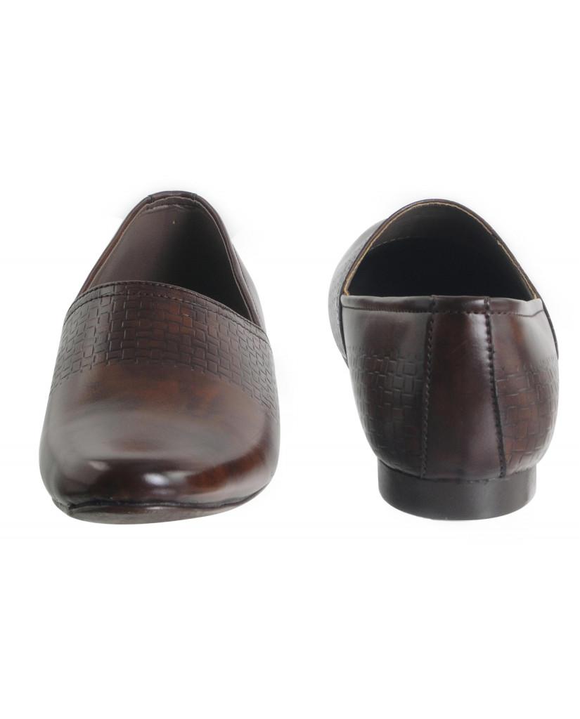B-10 : Balujas'Arya International Brown Men Shoes