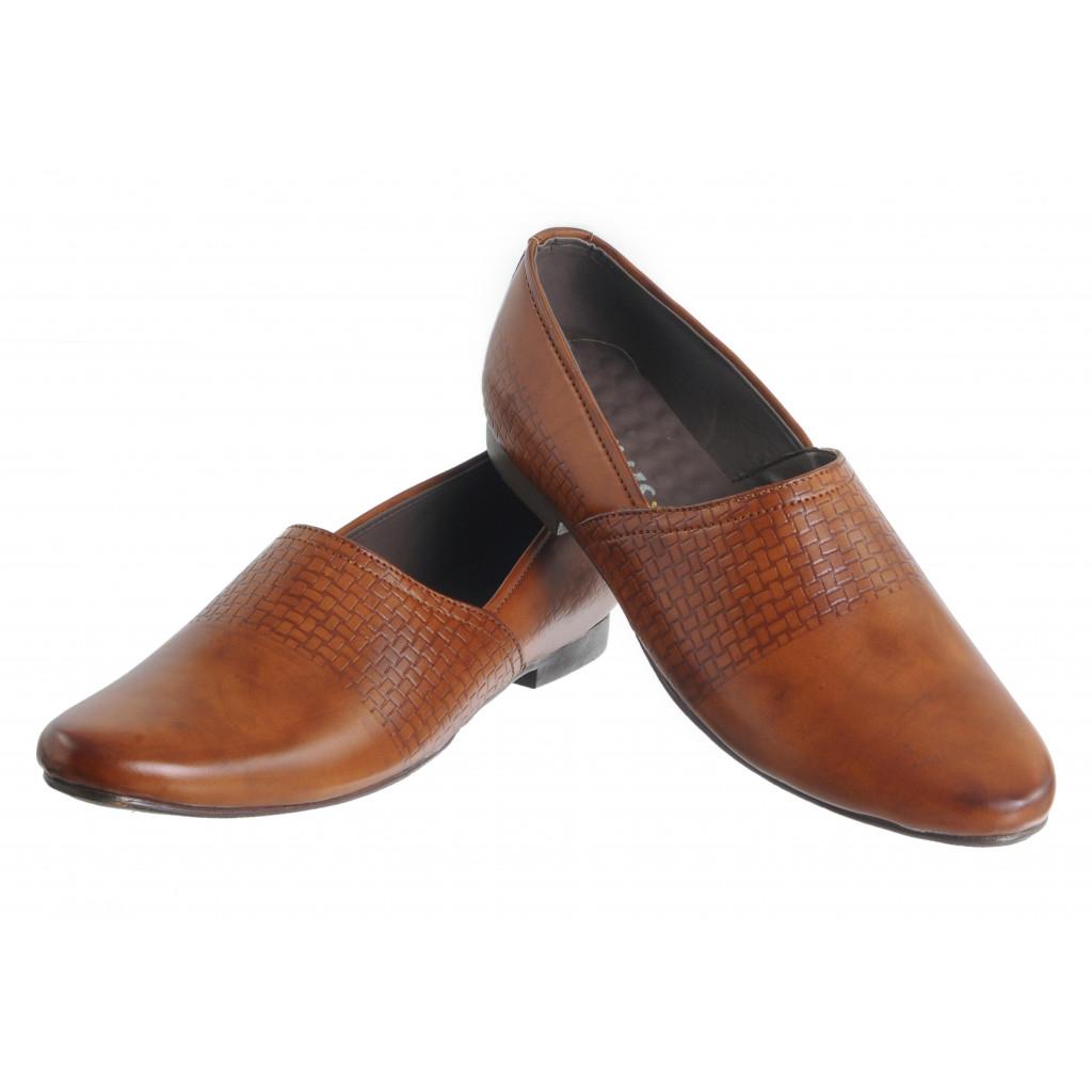 B-10 : Balujas'Arya International Tan Men Shoes