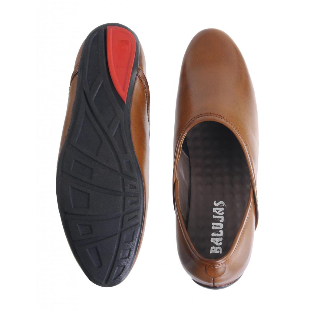 B-1 : Balujas'Arya International Tan Men Shoes