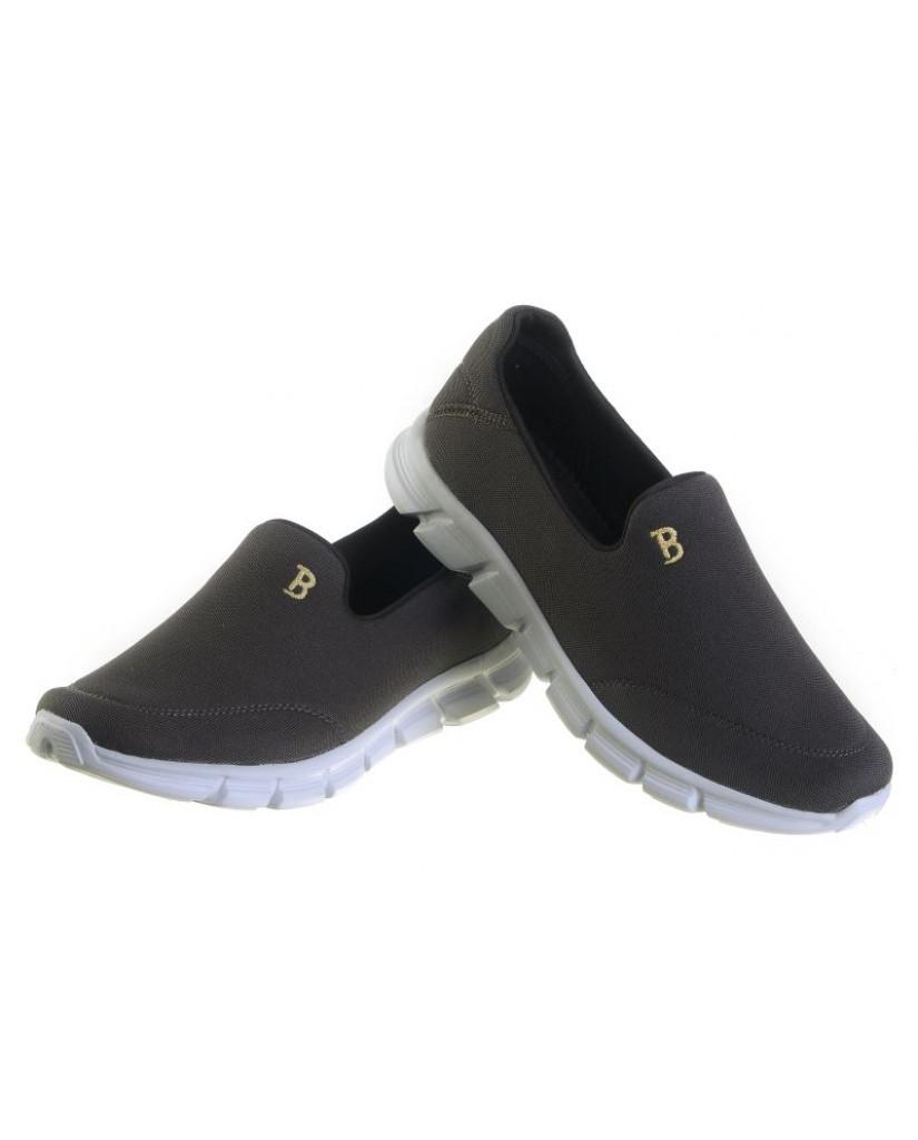 717 : Balujas' Forward Footwear Coffee Men Walking Shoes