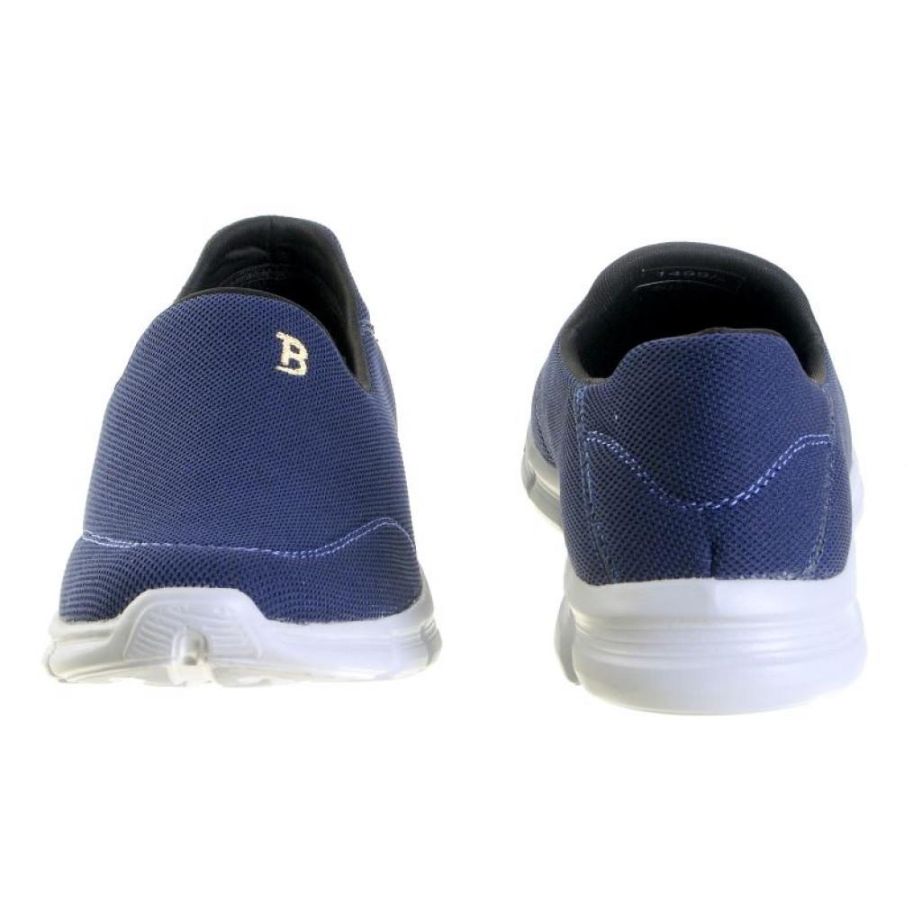 717 : Balujas' Forward Footwear Navy Men Waking Shoes
