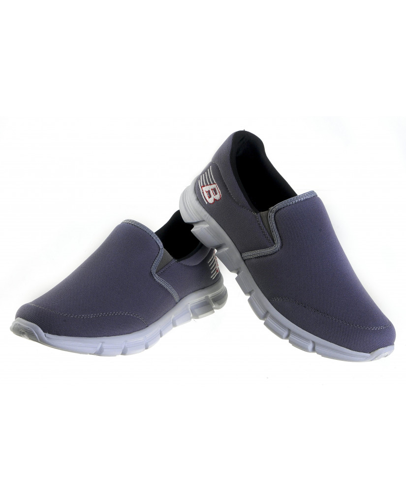719 : Balujas' Forward Footwear Grey Men Walking Shoes
