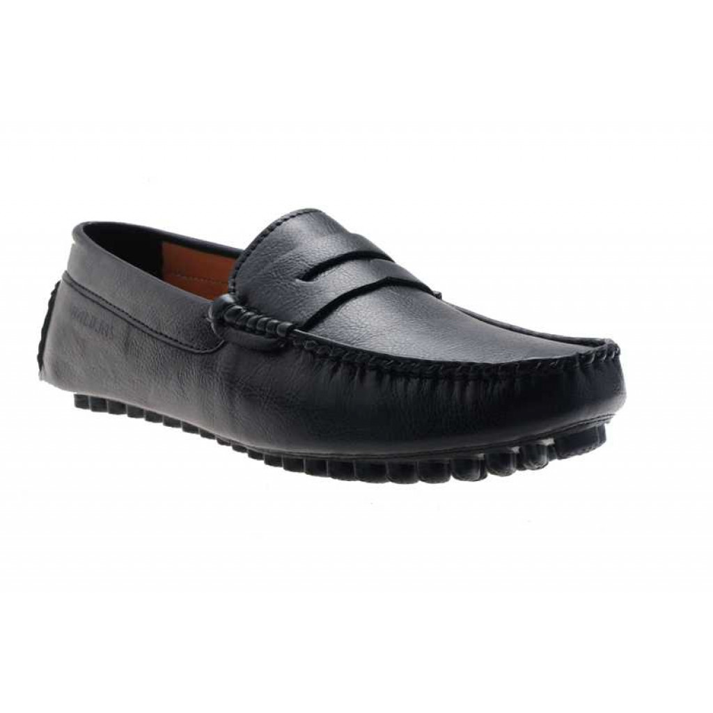 AE4702 : Balujas Black Men Loafers