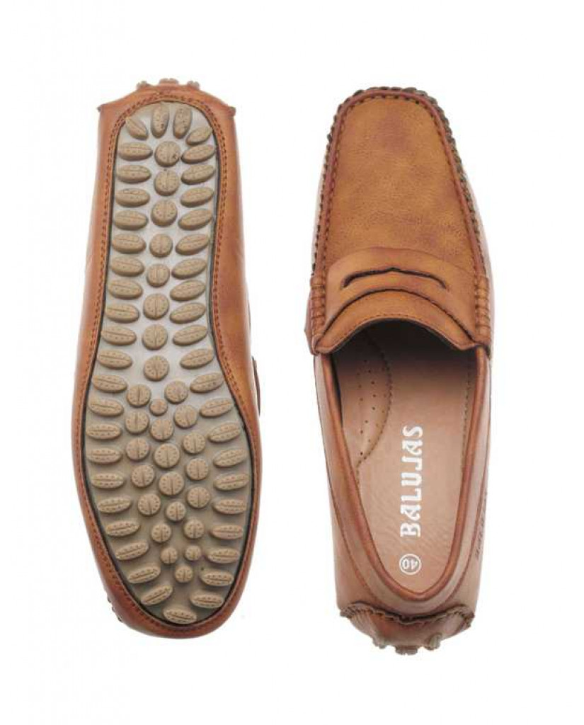 AE4702 : Balujas Tan Men Loafers
