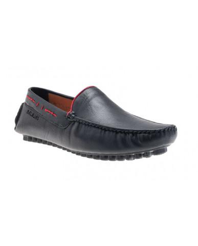 AE4709 : Balujas Black Men Loafers