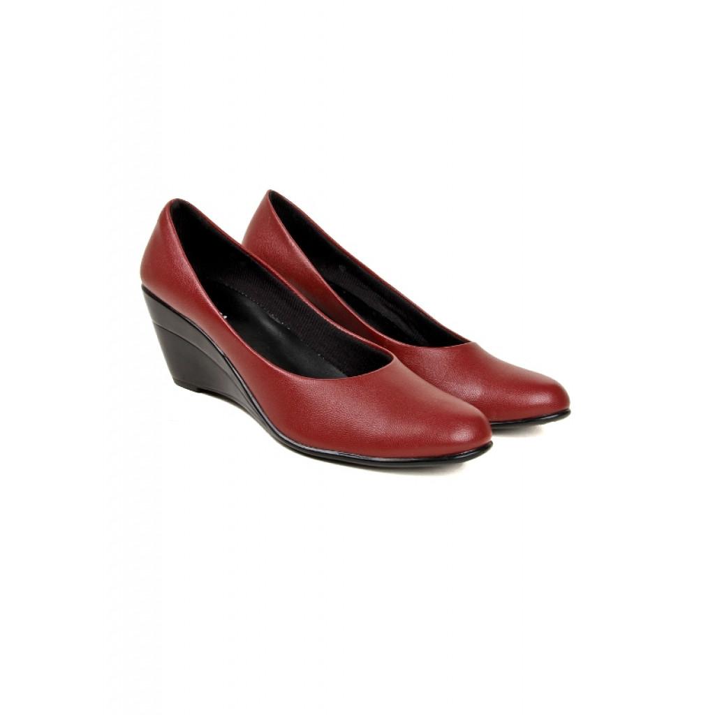 S-1 : Balujas' Chelsea Cherry Wedge Heel Bellies