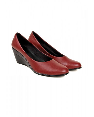 S-1 : Balujas' Chelsea Cherry Wedge Heel Bellies